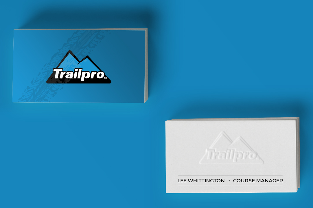 trailpro business card front mobile